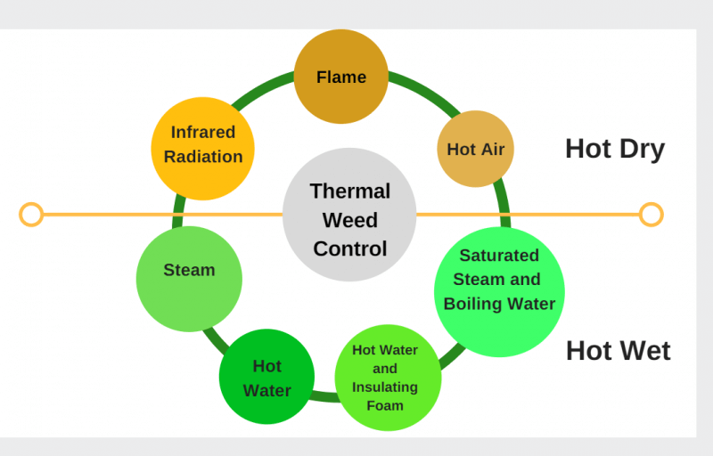 Thermal Weed Control Methods