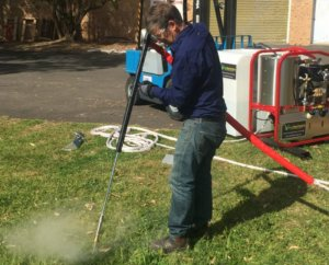 Hot Wet Weed Control